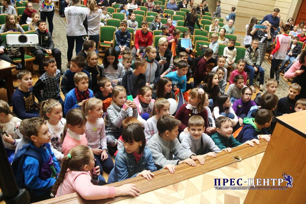 В ЛНУ ім. Івана Франка відбулося урочисте відкриття Німецького цифрового дитячого університету