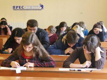 Студенти Університету взяли участь у I етапі XVIIІ Міжнародного конкурсу з української мови імені Петра Яцика
