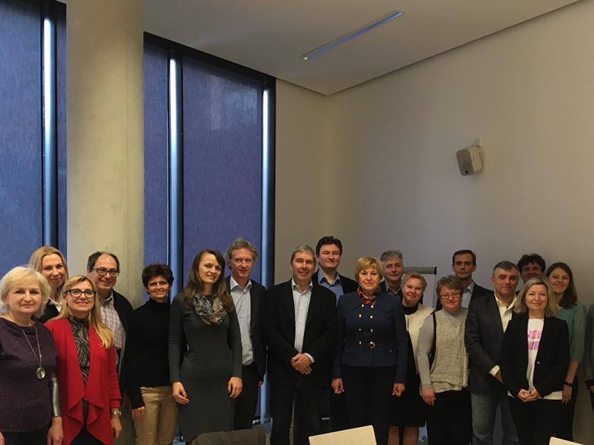 У Відні відбулася зустріч учасників  міжнародного проекту  Еразмус+