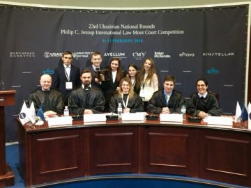 Студенти Університету перемогли у найбільшому конкурсі з міжнародного права