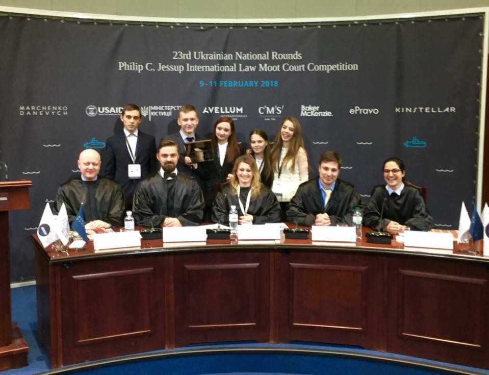 University students won an International Law Competition