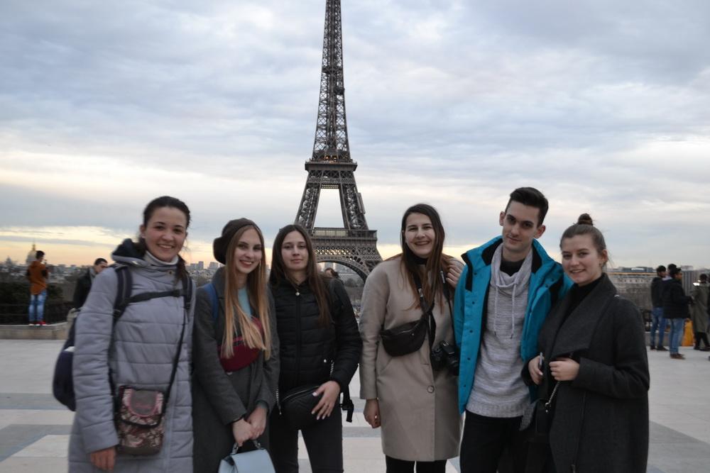 Лінгво-культурне стажування студентів французької філології у м. Пуатьє (Франція)