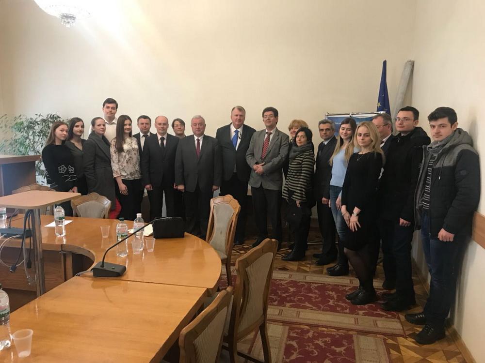 В Університеті презентували Координаційний центр міжнародного діалогу Україна-ЄС