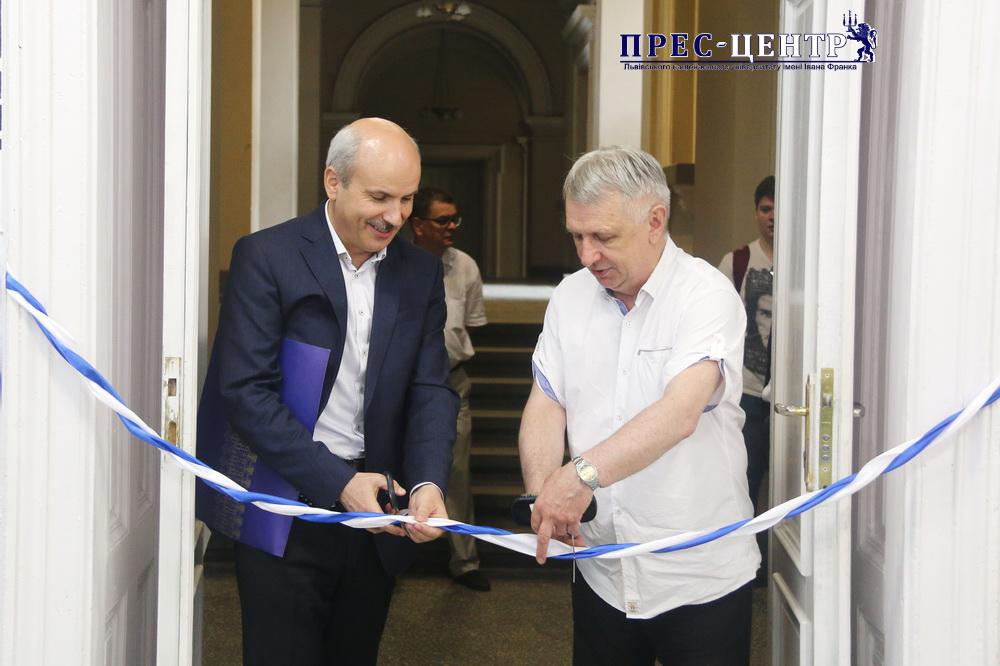 "SoftServe IT Corporation opened the ""Innovation Lab"" at Lviv University"