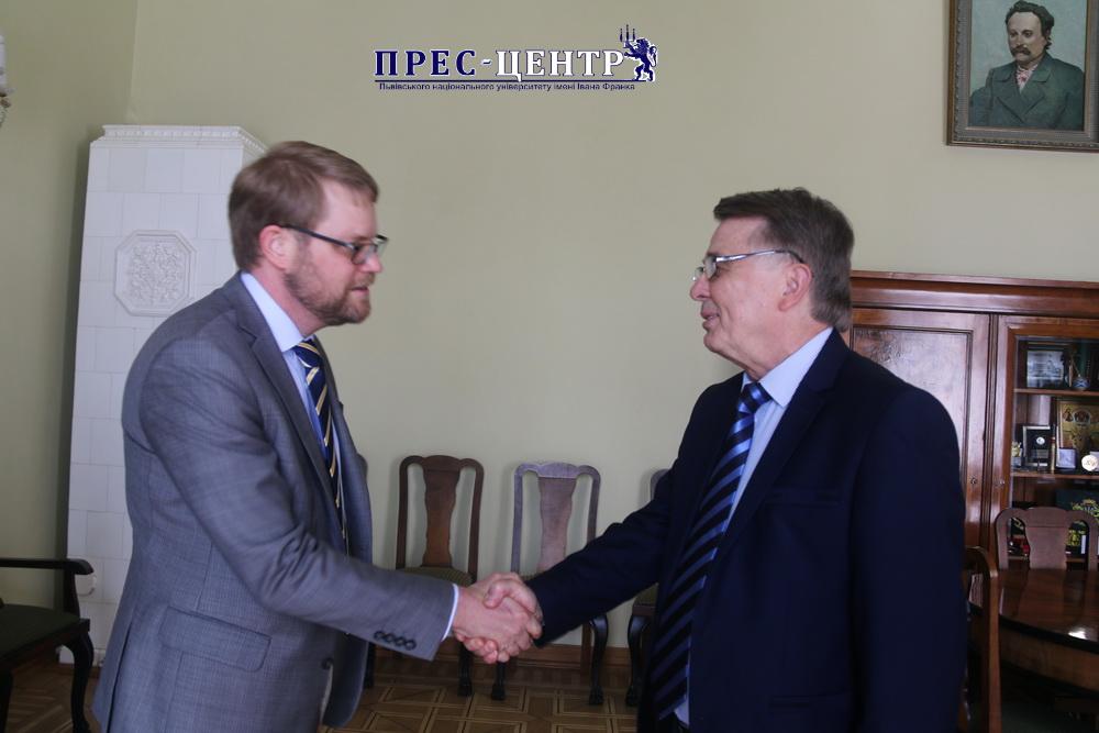 Університет відвідав Надзвичайний і Повноважний Посол Королівства Швеції в Україні