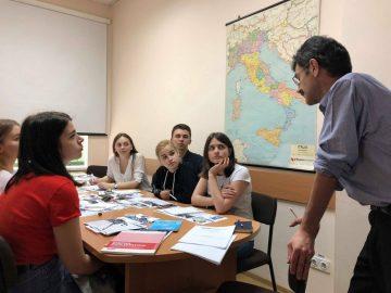 Студенти Університету поспілкувалися зі спостерігачами місії ОБСЄ в Україні