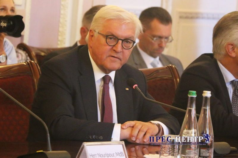The German Federal President Frank-Walter Steinmeier paid a visit to Lviv University