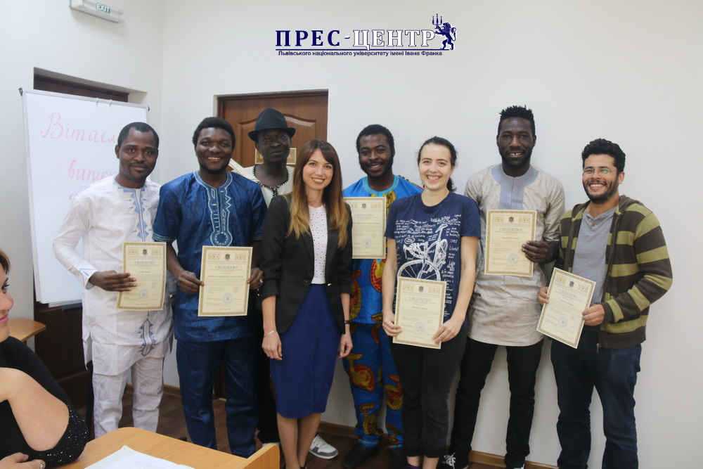 40 Foreigners Received Certificates of the Knowledge of Ukrainian Language from Center of International Education