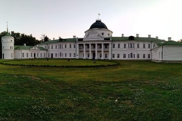 с. Качанівка. Палацово-парковий комплекс «Качанівка». Панорама