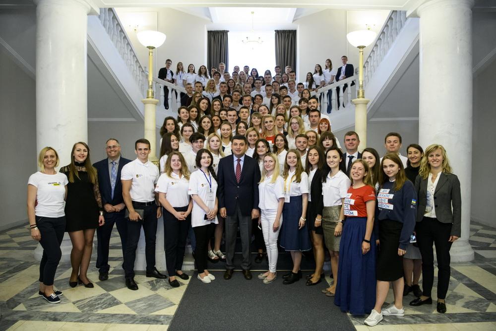 Стажування студентів в органах державної влади у рамках проекту «Державотворець»