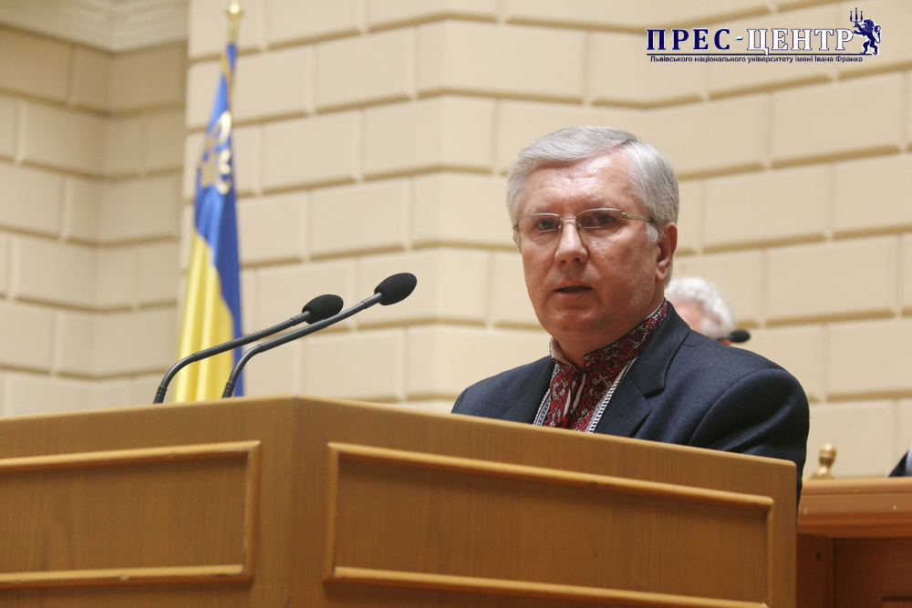 """Dean of Faculty of Foreign Languages Volodymyr Sulym awarded an honorary title """"Honored Worker of Education of Ukraine"""""""