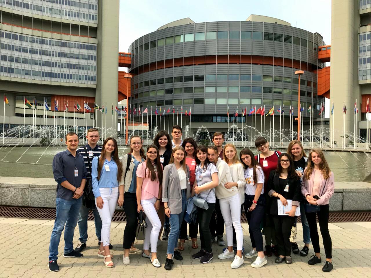 Міжнародна навчально-пізнавальна поїздка країнами Центрально-Східної Європи студентів факультету міжнародних відносин.