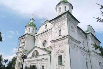 Мгарський чоловічий монастир. Спасо-Преображенський собор