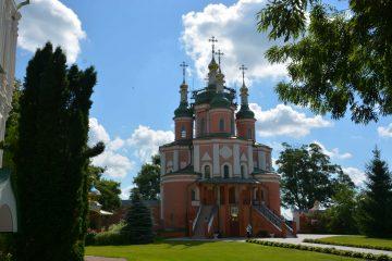 Густинський монастир. Церква Свв. Петра і Павла