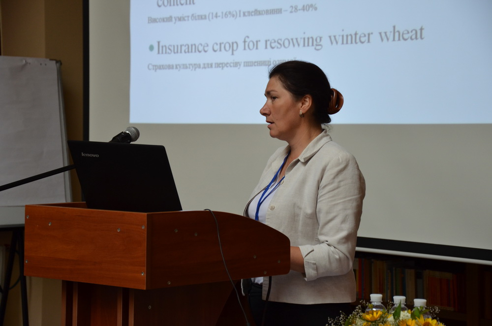"""Symposium with international participation """"Steady approaches to increase the yield and nutritional value of wheat"""" was held at Lviv University"""