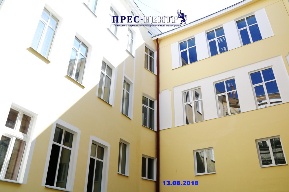 У Львівському університеті тривають масштабні ремонтно-реставраційні роботи (оновлено)