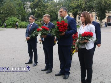 Академічна спільнота Львівського університету вшанувала 162 річницю від Дня народження Івана Франка