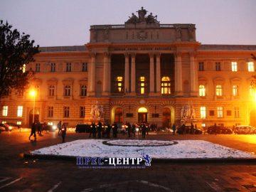Студенти та викладачі Львівського університету вшанували пам'ять жертв Голодомору в Україні