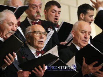 Спільний концерт Народної чоловічої хорової капели «Прометей» та Народного ансамблю сучасного танцю «Fantazy» (2 частина)