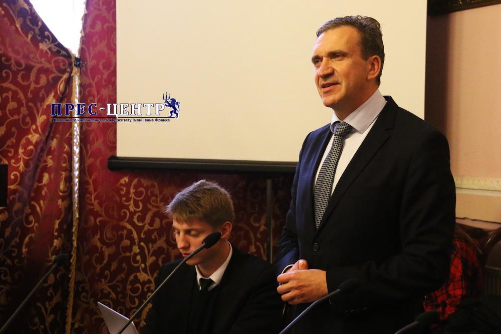 Павло Шеремета зустрівся зі студентами Львівського університету
