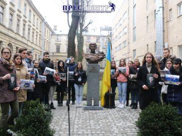 Університетська спільнота вшанувала пам'ять Героя Небесної Сотні Ігоря Костенка