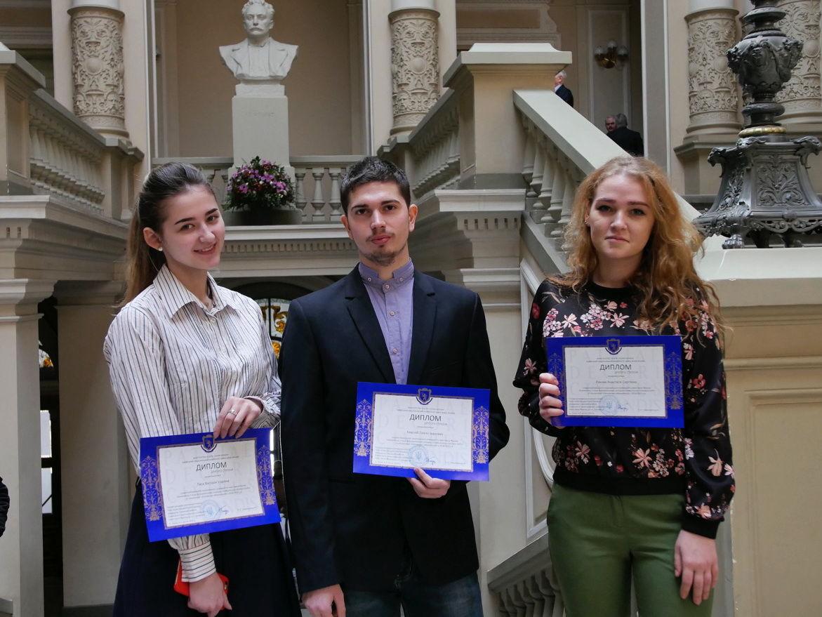 Студенти економічного факультету стали переможцями Всеукраїнського конкурсу наукових робіт з економічної кібернетики