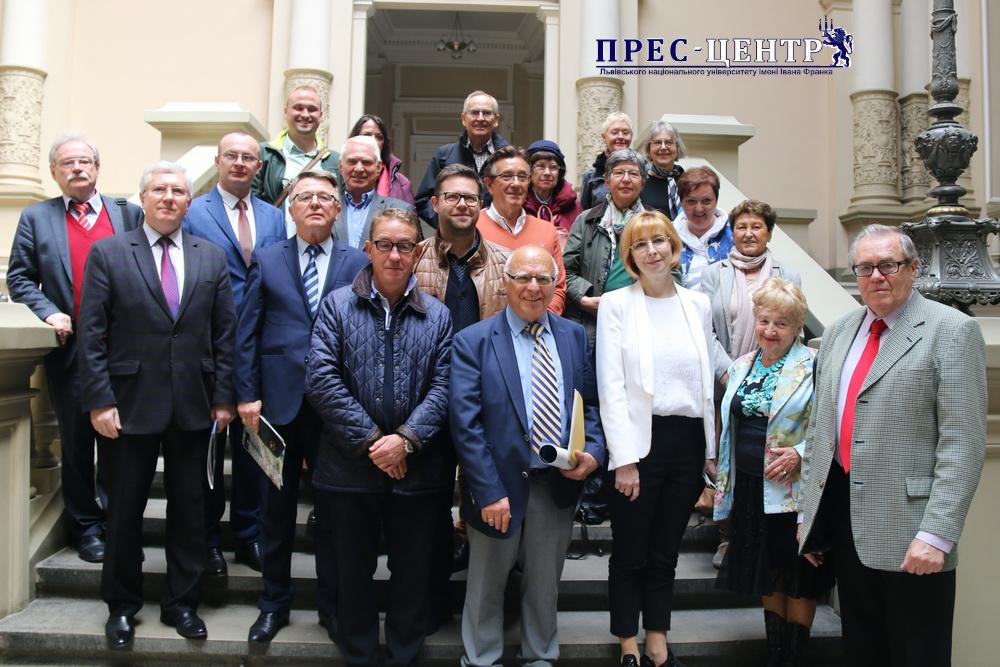 Університет відвідала делегація Товариства німецько-українського сприяння розвиткові економіки та науки