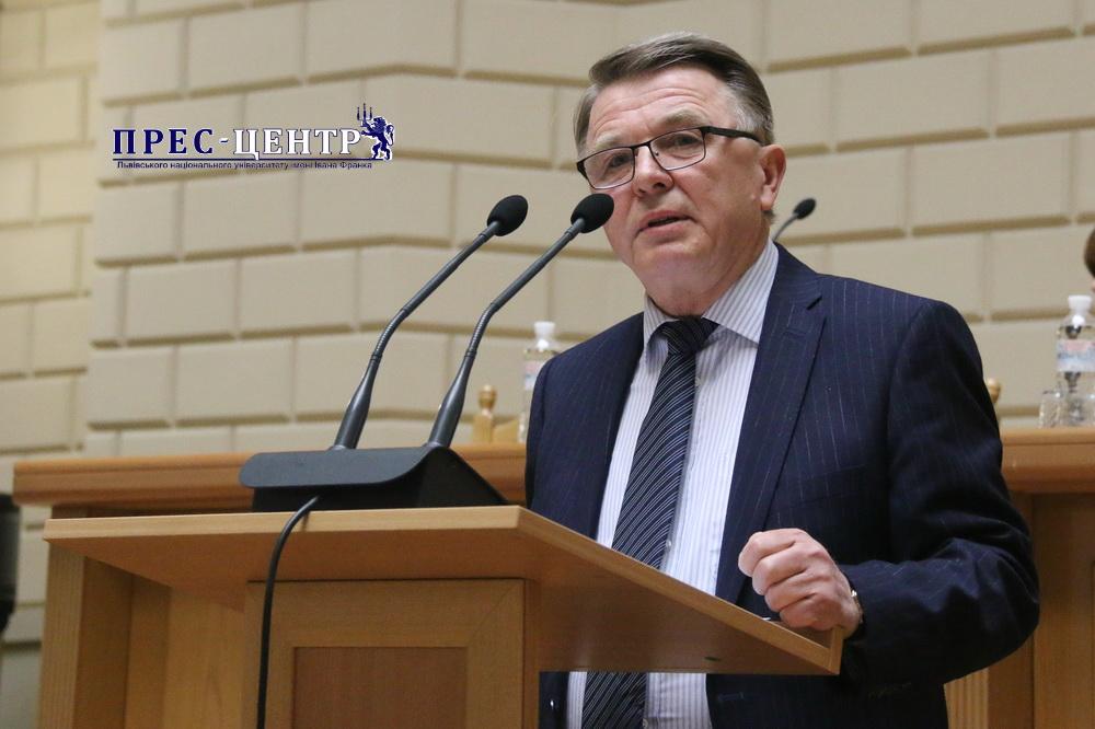Ректор Володимир Мельник представив звіти про діяльність Львівського університету