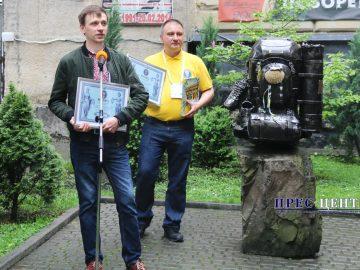 Пам'ятник наплічнику занесли в Книгу рекордів України