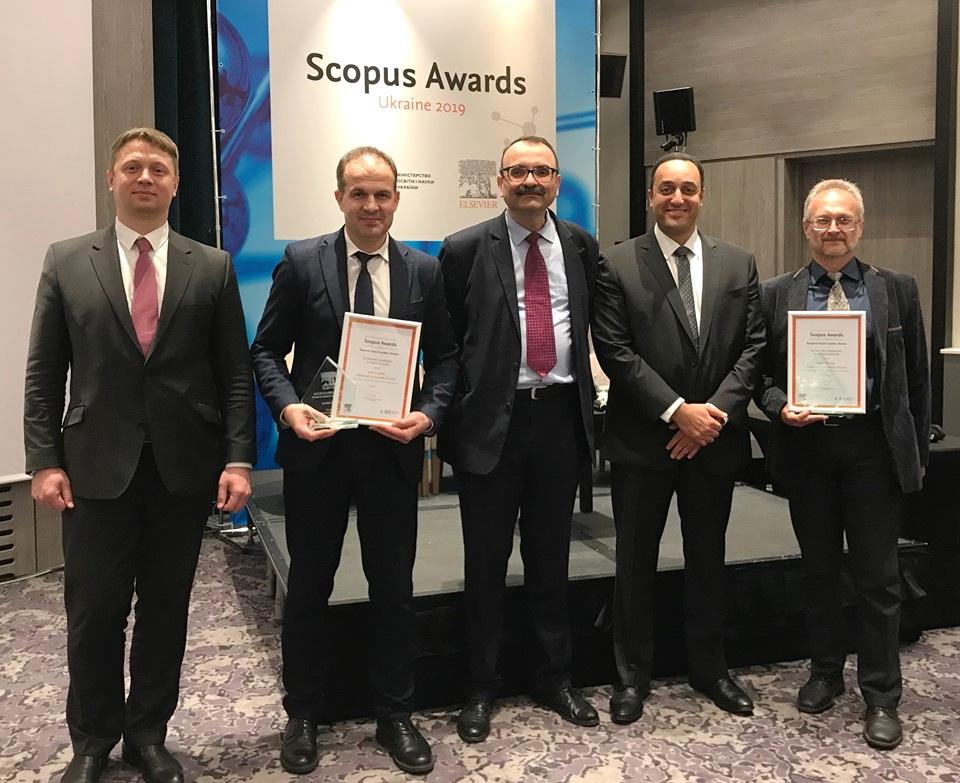 Львівський університет нагородили преміями «Scopus Awards Ukraine»