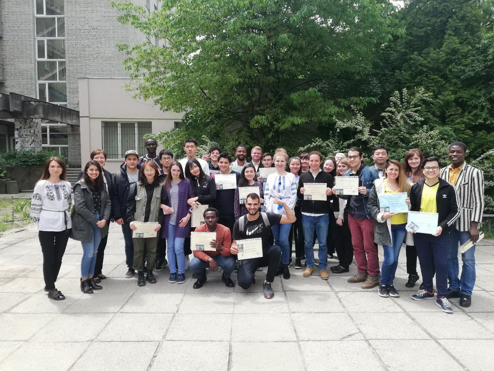 International Students From 10 World Countries Demonstrated Knowledge in Ukrainian