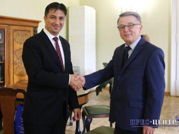 Університет відвідав Посол Туреччини в Україні Ягмур Ахмет Гульдере