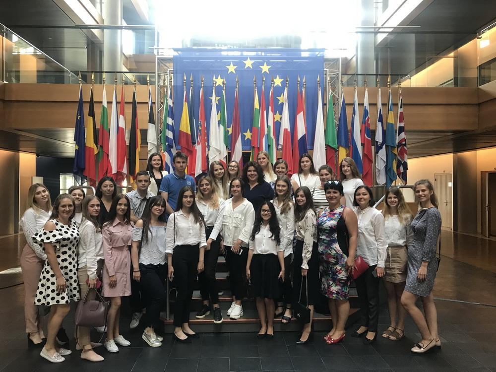 Навчальна поїздка Європою студентів Університету