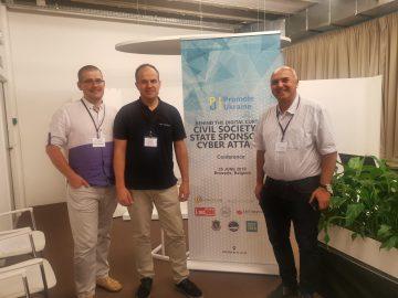 У Брюсселі відбулася конференція «За цифровою завісою. Громадське суспільство vs спонсоровані державою кібератаки»