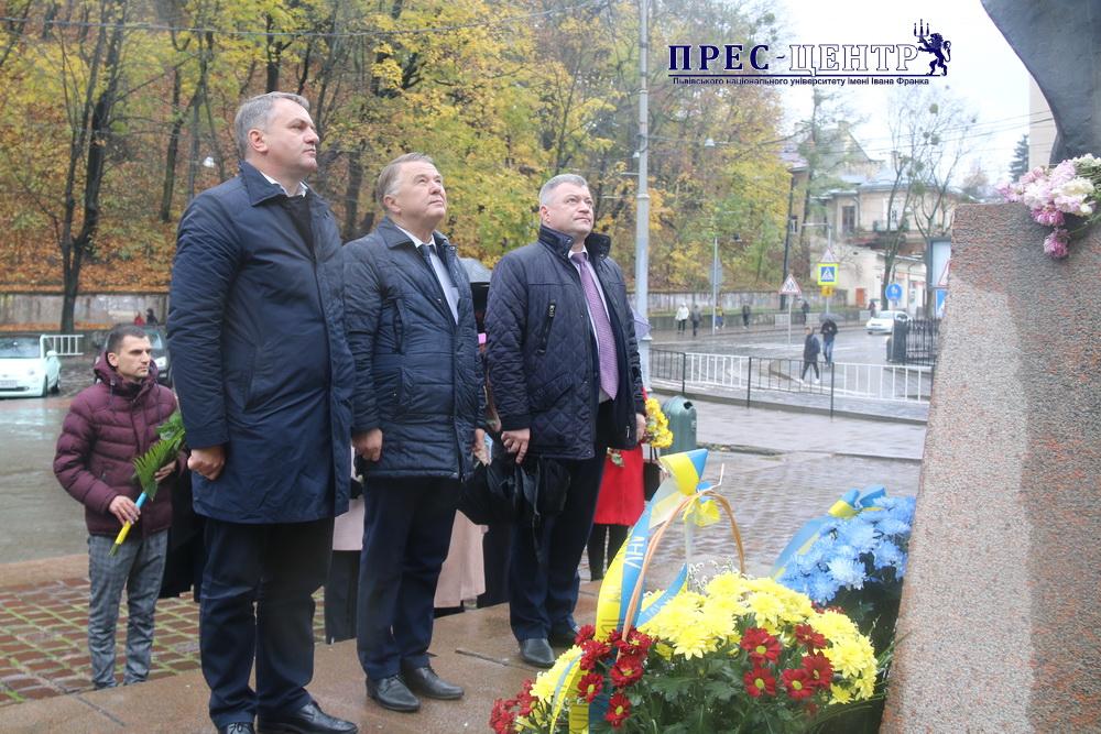 Спільнота Університету відзначила 208-му річницю від дня народження Маркіяна Шашкевича