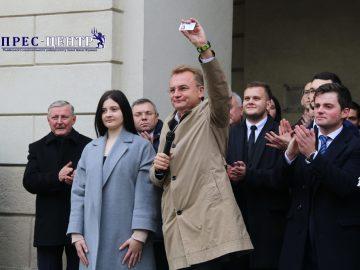 Відбулася інавгурація студентського мера Львова – студентки Львівського університету Ольги Дякун