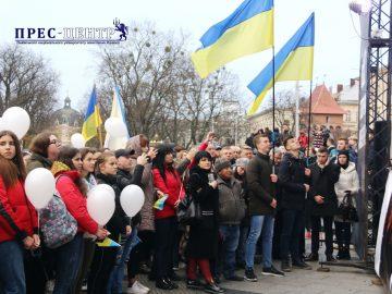 Університетська спільнота відзначила День Гідності та Свободи