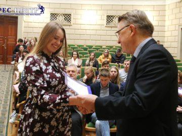 Ректор Львівського університету дав відповідь на актуальні запитання студентів та нагородив переможців Всеукраїнських інтелектуальних змагань