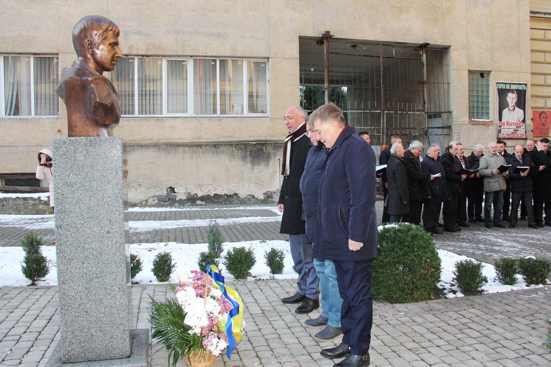 Спільнота Університету вшанувала пам'ять Героя Небесної Сотні Ігоря Костенка