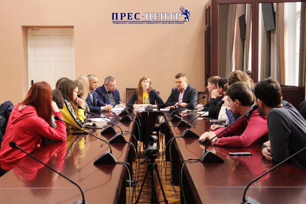 У Львівському університеті презентували Всеукраїнський проект «Озеленення України»
