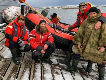 Українська антарктична експедиція: науковці відібрали зразки глибоководних гідробіонтів