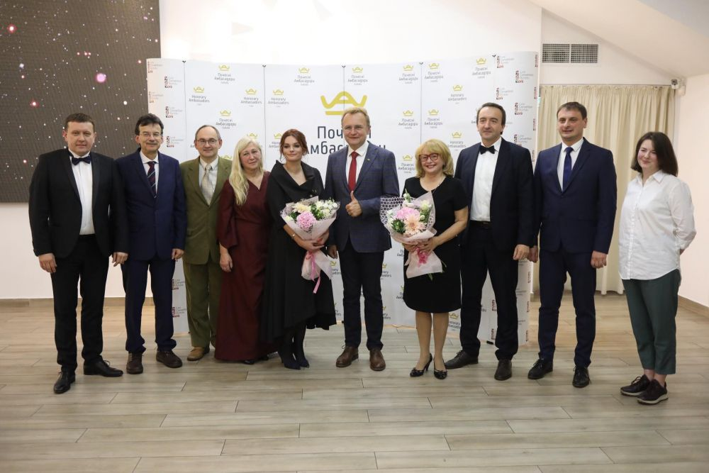 Професор Тарас Банах – Почесний Амбасадор Львова